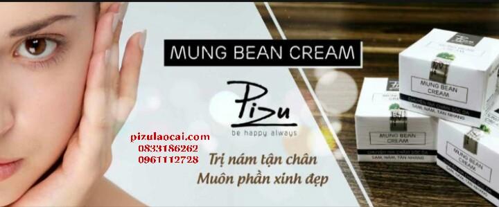 Kem Nám rút chân Pizu dùng ban Đêm - Mung Bean Cream